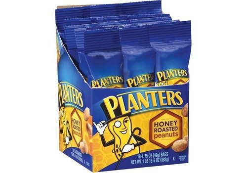 PLANTERS HONEY ROASTED PEANUTS 1.75oz (49g)