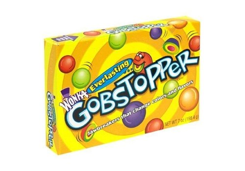 WONKA GOBSTOPPER VIDEO BOX 5oz (141.7g)