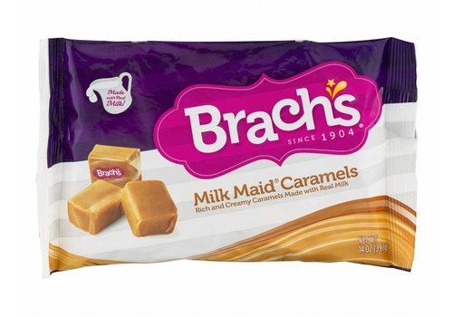BRACH'S MILK MAID CARAMELS 14oz (397g)