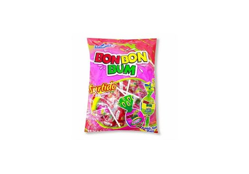 BON BON BUM Lollie Assorted ZAK 24st 14.4oz (408g)