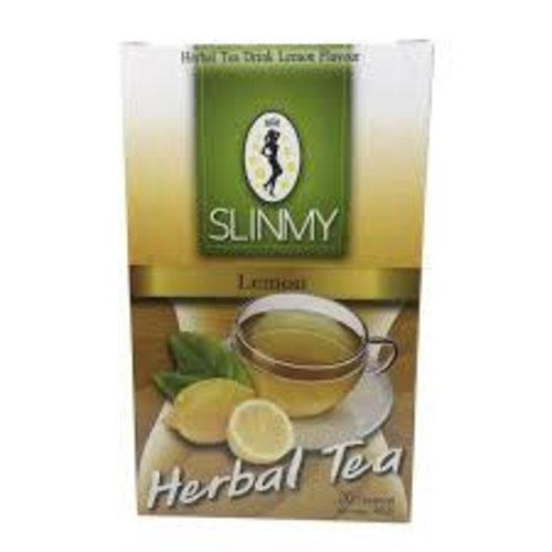 Slinmy Herbal Teabags - Lemon 40g Best Before 04/19