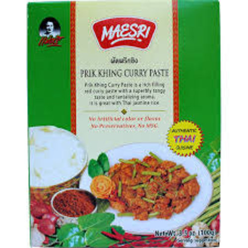 Maesri Prik Khing Curry Paste 100g