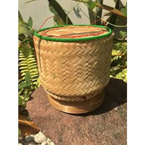 Bamboo Basket for Sticky Rice 6 Inches