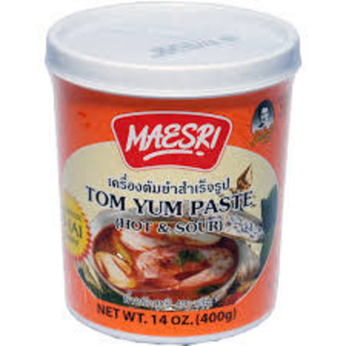 Maesri Tom Yum Paste 400g