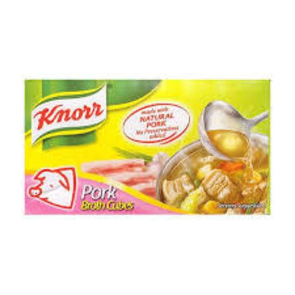 Knorr Broth Cube- Pork 60g