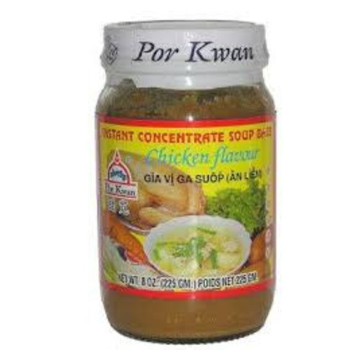 Por Kwan Soup Concentrate - Chicken 225g Best Before  09/18