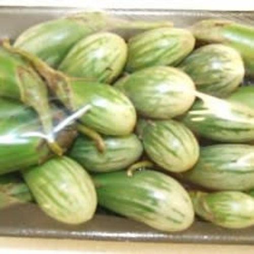 Stripe Eggplant / Aubergine 200g