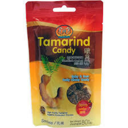 Double Seahorse Tamarind Candy -Spicy 80g