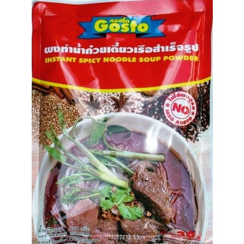 Gosto Noodle Soup Powder - Spicy 208g