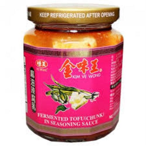 Kim Ve Wong Seasoned Fermented Tofu 265g