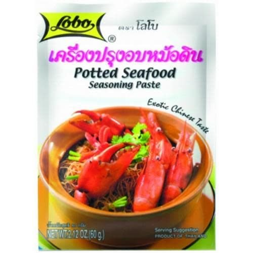Lobo Potted Seafood Seasoning Paste 60g Best Before 03/19