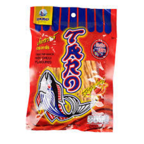 Taro Fish Snack - Hot Chilli Flavour 52g