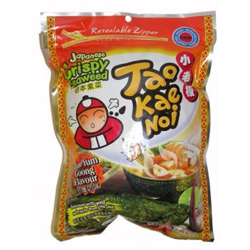 Tao Kae Noi Crispy Seaweed - Tom Yum Goong  32g