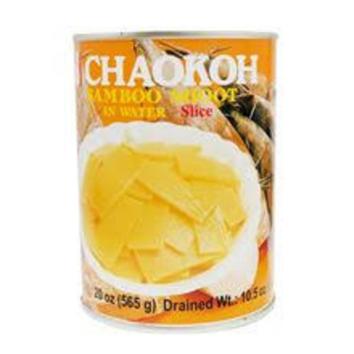 Chaokoh Bamboo Shoot Sliced 565g