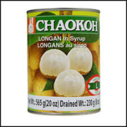 Chaokoh Longan in syrup 565g