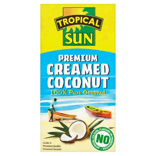 Tropical Sun Creamed Coconut 200g