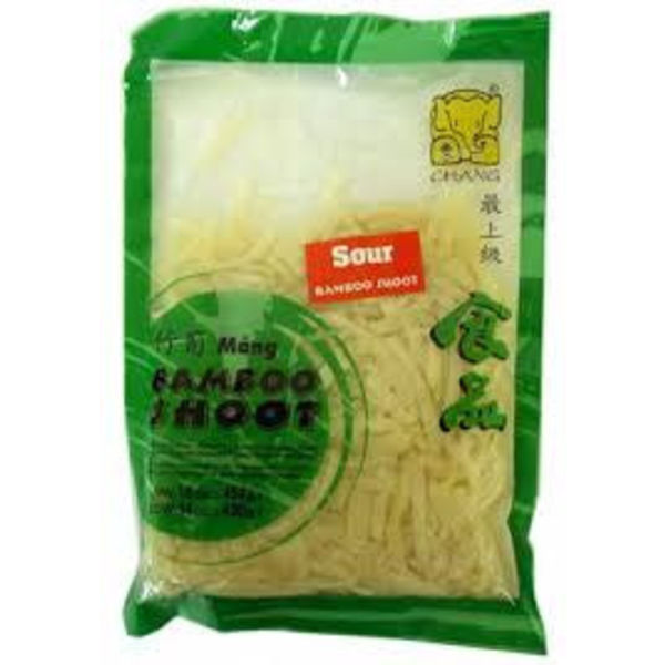 Chang Sour Bamboo Shoot- Strip 454g Best Before 01/19