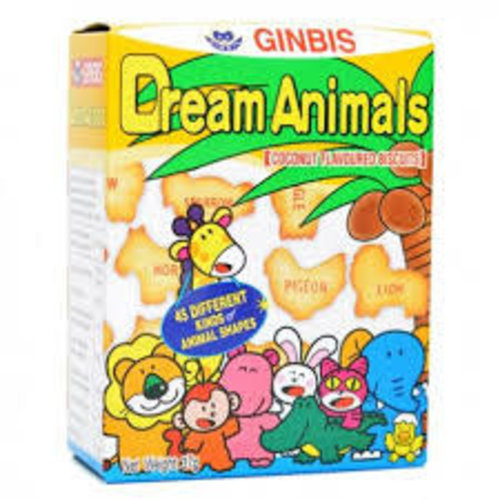 Ginbis Dream Animal-Coconut 37g