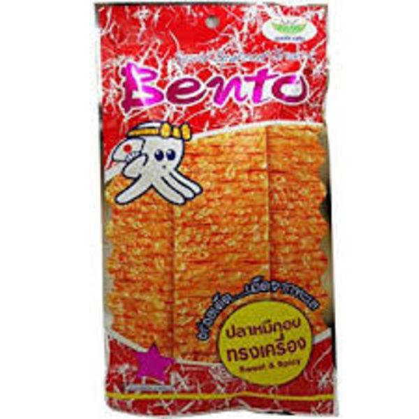 Bento Bento Spicy Seafood Flavour Snack  20g