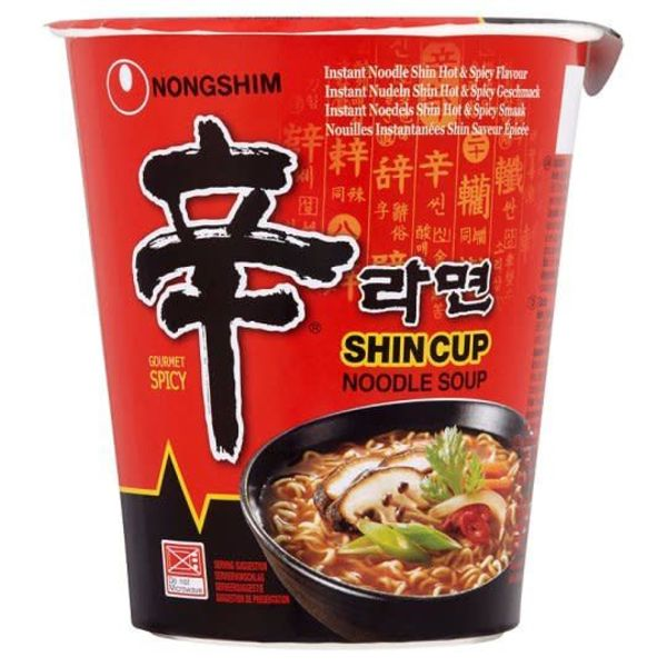 Nongshim Noodle Soup- Gourmet Hot & Spicy Cup 68g