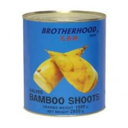 Brotherhood Bamboo Shoot- Halves 2.95kg