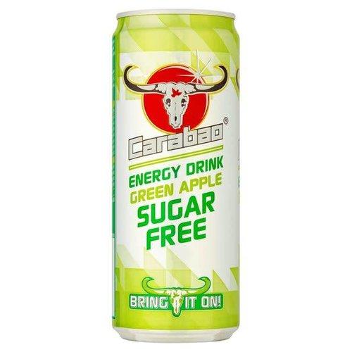 Carabao Energy Drink- Green Apple Sugar Free 330ml