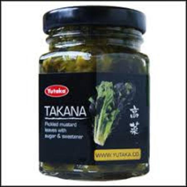 Yutaka Takana -Pickled Mustard Leaves 110g