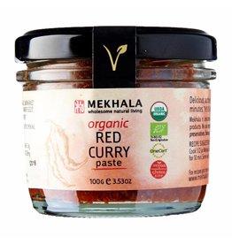 Mekhala Organic Red Curry Paste 100g