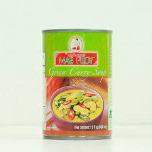 Mae Ploy Soup - Green Curry 400ml