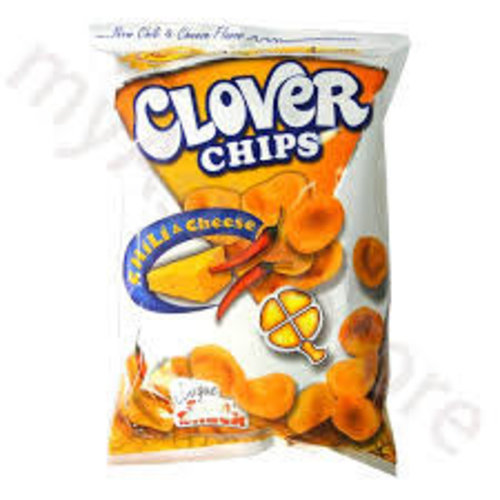 Leslies Clover Chips- Chilli & Cheese 85g