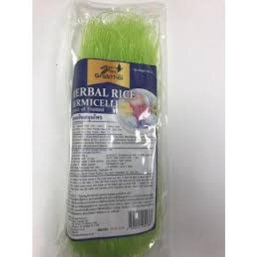 Grab Thai Dried Rice Vermicelli - Green 200g