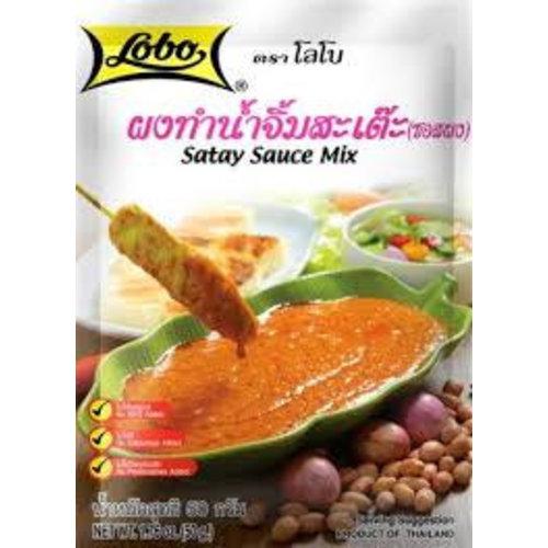 Lobo Satay Sauce Mix 50g