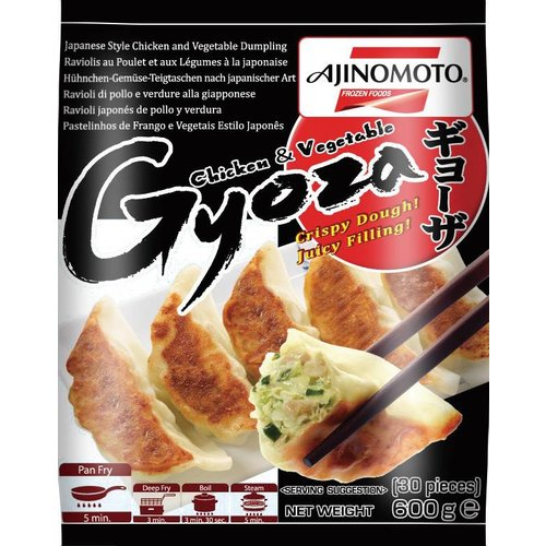 Ajinomoto Gyoza - Chicken & Vegetable 600g