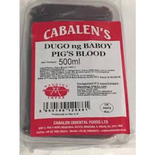 Cabalens Dugo - Pork Blood 500ml