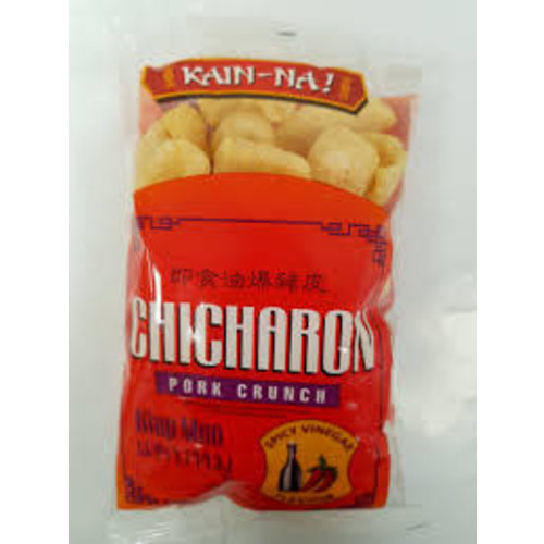 Kain Na Chicharon - Spicy Vinegar  70g