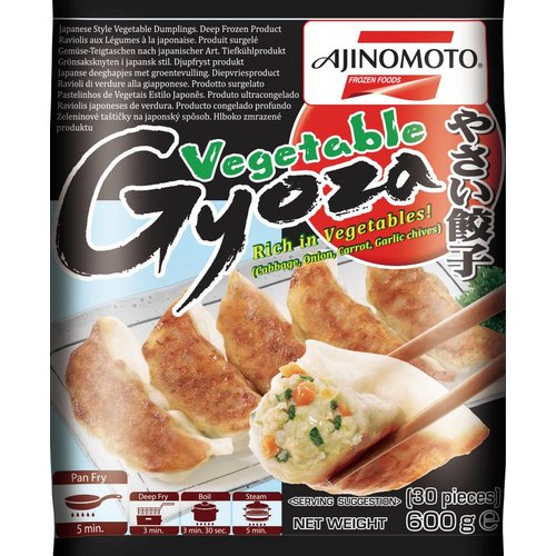 Ajinomoto Gyoza - Vegetable 600g