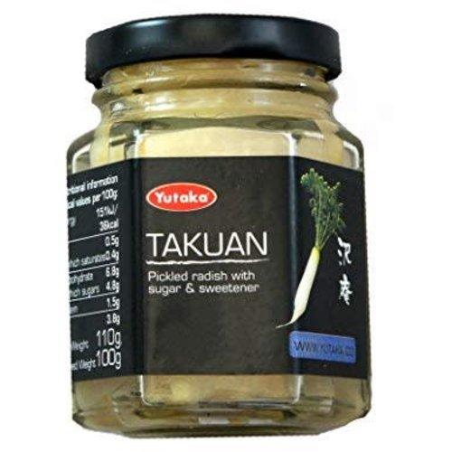 Yutaka Takuan-Pickled Radish  110g