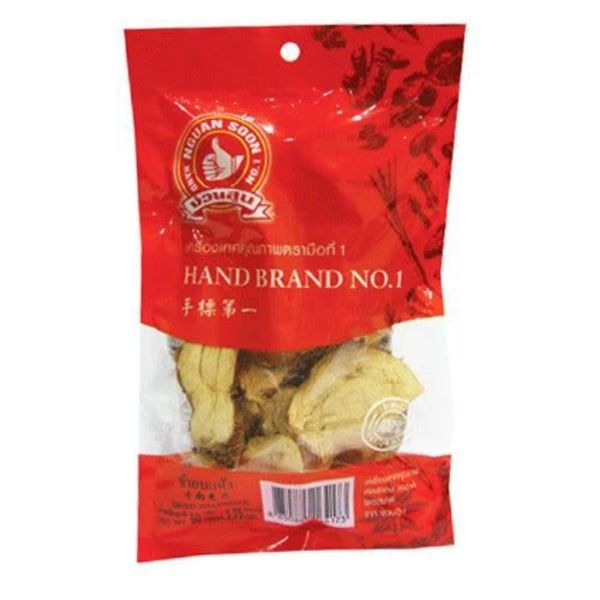 Hand Brand Dried Galangal Pieces 50g