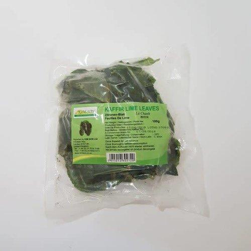 Kimsom Kaffir Lime Leaves 100g