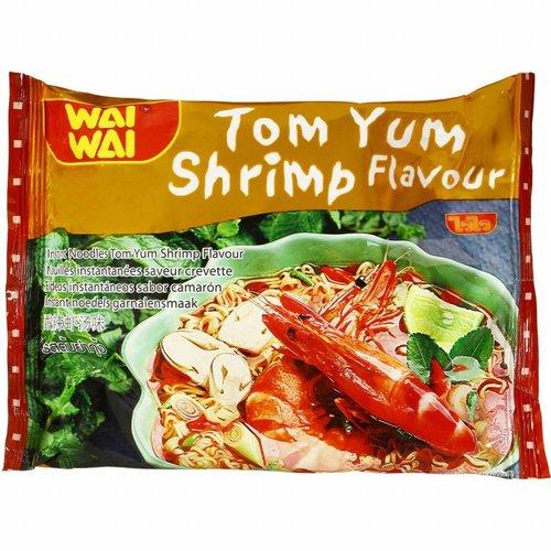 Wai Wai Instant Noodles - Creamy Tom Yum  Shrimp Flavour  60g