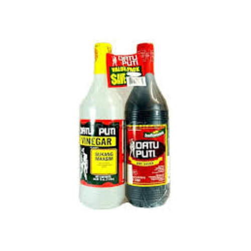 Datu Puti Value Pack Vinegar & Soy Sauce 1 Litre