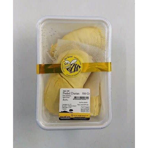 Peeled Durian 500g  ปอกเปลือกทุเรียน 500 กรัม