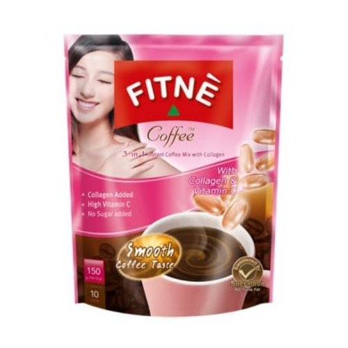 Fitne 3 in 1 Coffee Mix with Collagen & Vitamin C
