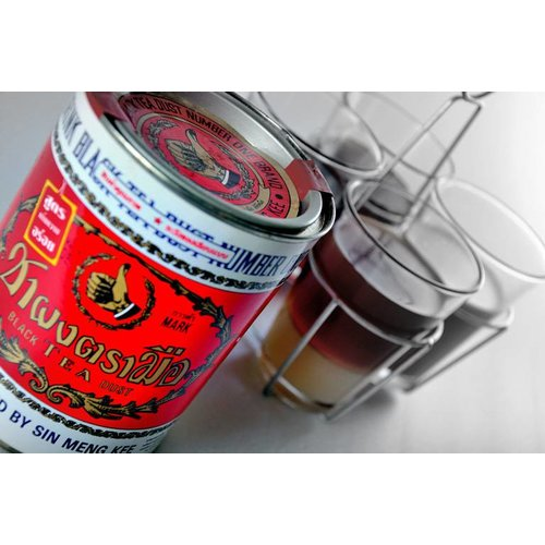 Hand Brand Thai Tea Mix 200g Red Can