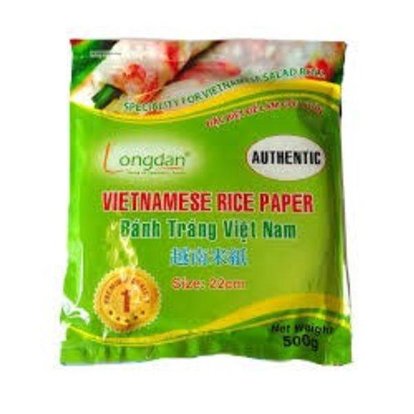 Longdan Vietnamese Rice Paper 22cm 500g