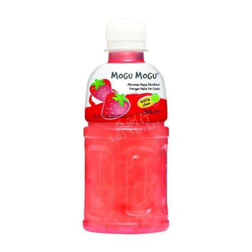 Mogu Mogu Strawberry Drink 320ml