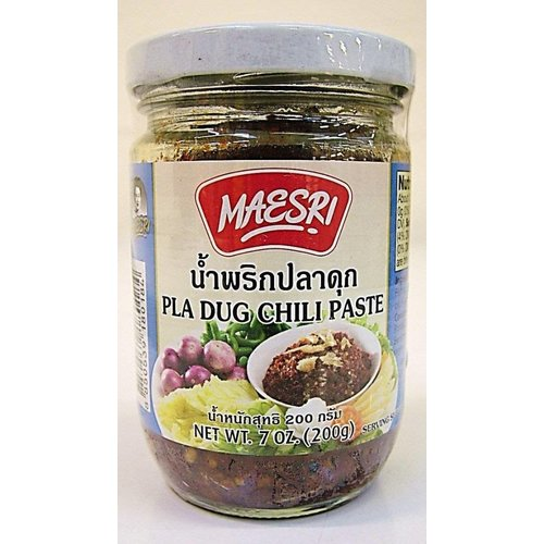 Maesri Pla Dug Chilli Paste 200g