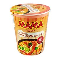 Mama Noodle Cup - Creamy Shrimp Tom Yum vermicelli 55g SPECIAL OFFER