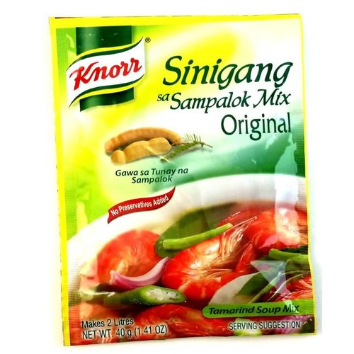 Knorr Sampalok Mix Soup Powder - Sinigang 40g