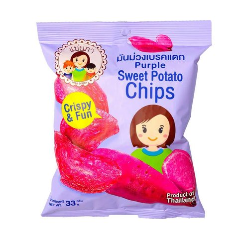 Mae Napa Purple Sweet Potato chips 35g